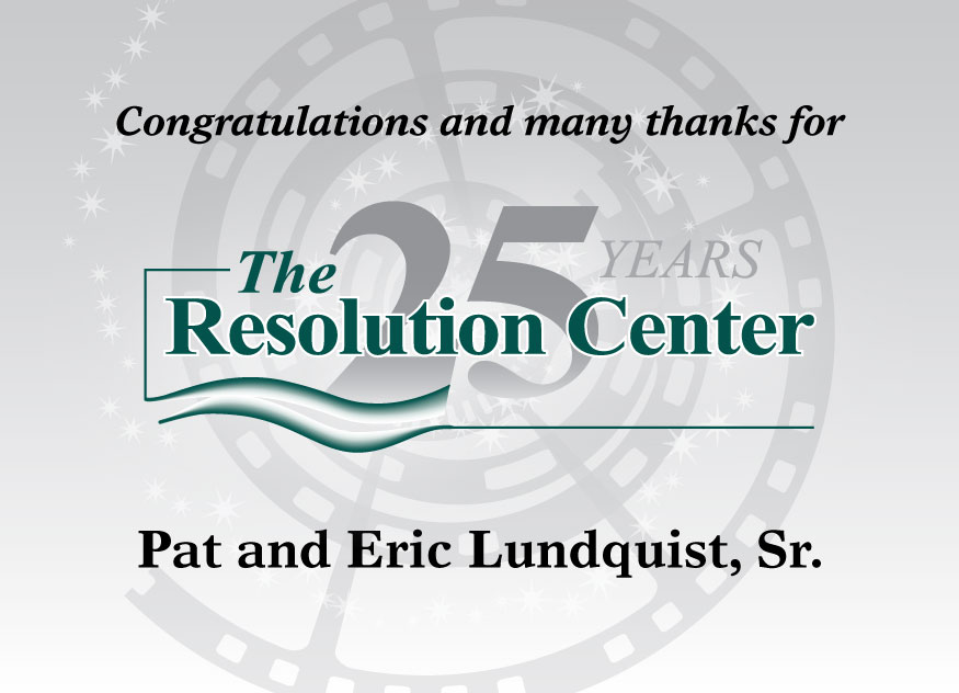 Pat and Eric Lundquist, Sr.