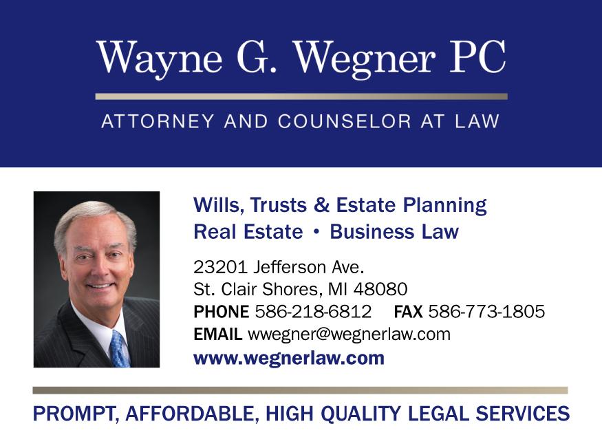 Wegner, Wayne G.