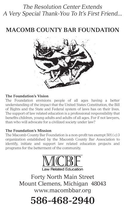 Macomb County Bar Foundation