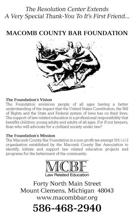 Macomb County Bar Foundation