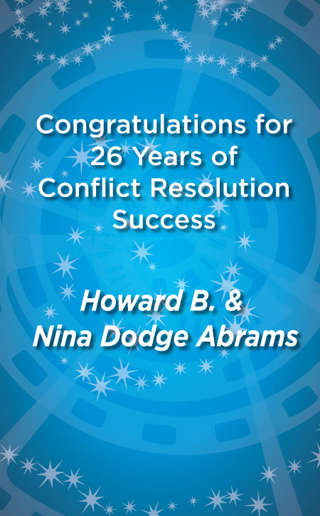 Abrams, Howard B. & Nina Dodge