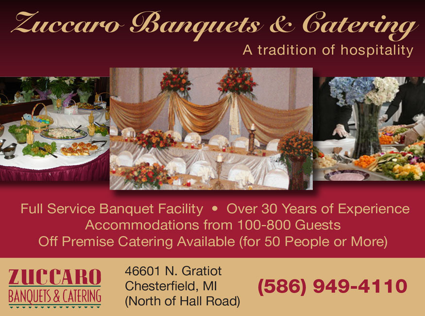 Vendor: Zuccaro Banquets & Catering