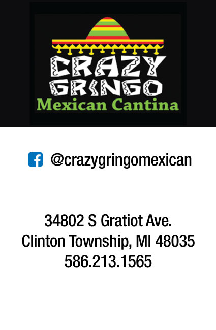 Vendor: Crazy Gringo Mexican Cantina